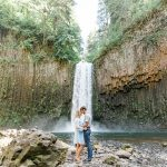Micajah & Irina //  Abiqua Falls Adventure Engagement Session