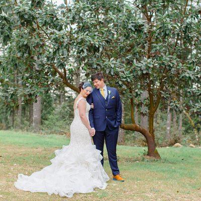 Mr & Mrs McSmithey // Backyard Wedding in Port Orchard, WA