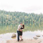 Brandon & Kyra // Battle Ground Lake State Park Engagement Session
