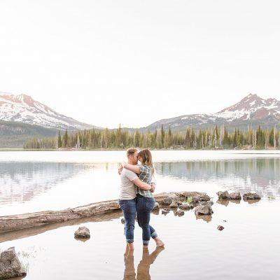 Ryan & Lynlee // Bend, Oregon Engagement Session