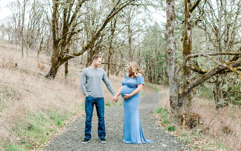 Ryan + Bree // Chip Ross Park Maternity Session