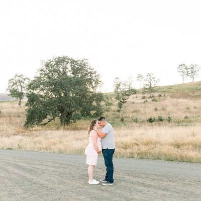 Nick & Hailey // William L Finley Maternity Session