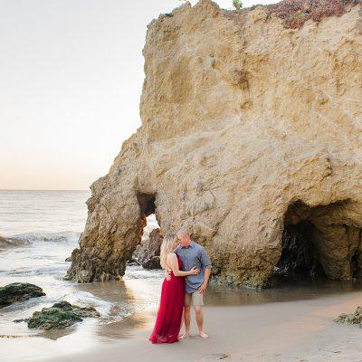 Jesse & Helena // Couple's Session on El Matador Beach