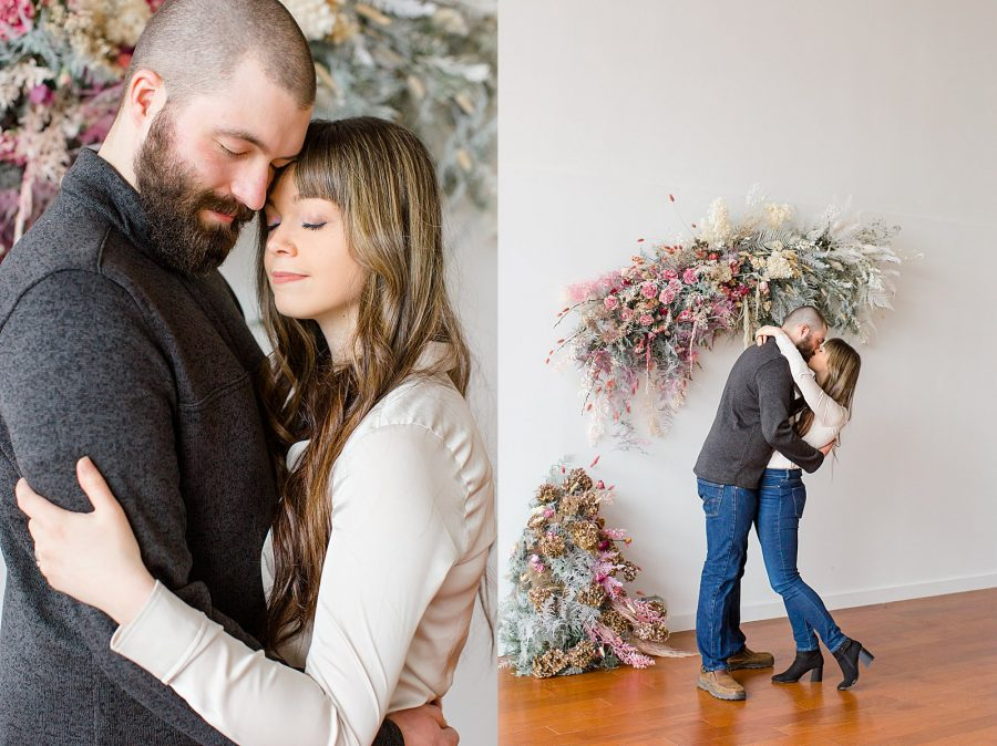 Couple's Session at The Gray Lab - romantic couple