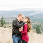 Craig & Kalee // Wintery Fitton Green Engagement Session