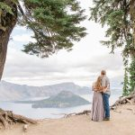 Derrick & Kameron // Crater Lake Oregon Adventurous Couple's Session