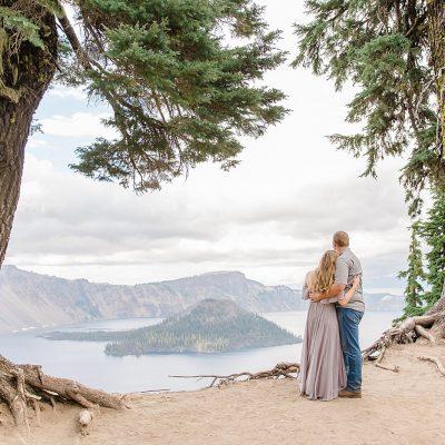 Derrick & Kameron // Crater Lake Oregon Adventurous Couple's Session