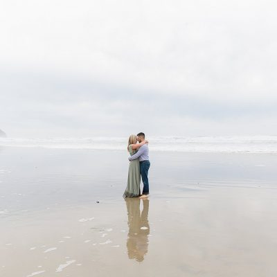 Hector & Erinn // Cape Kiwanda Engagement Session