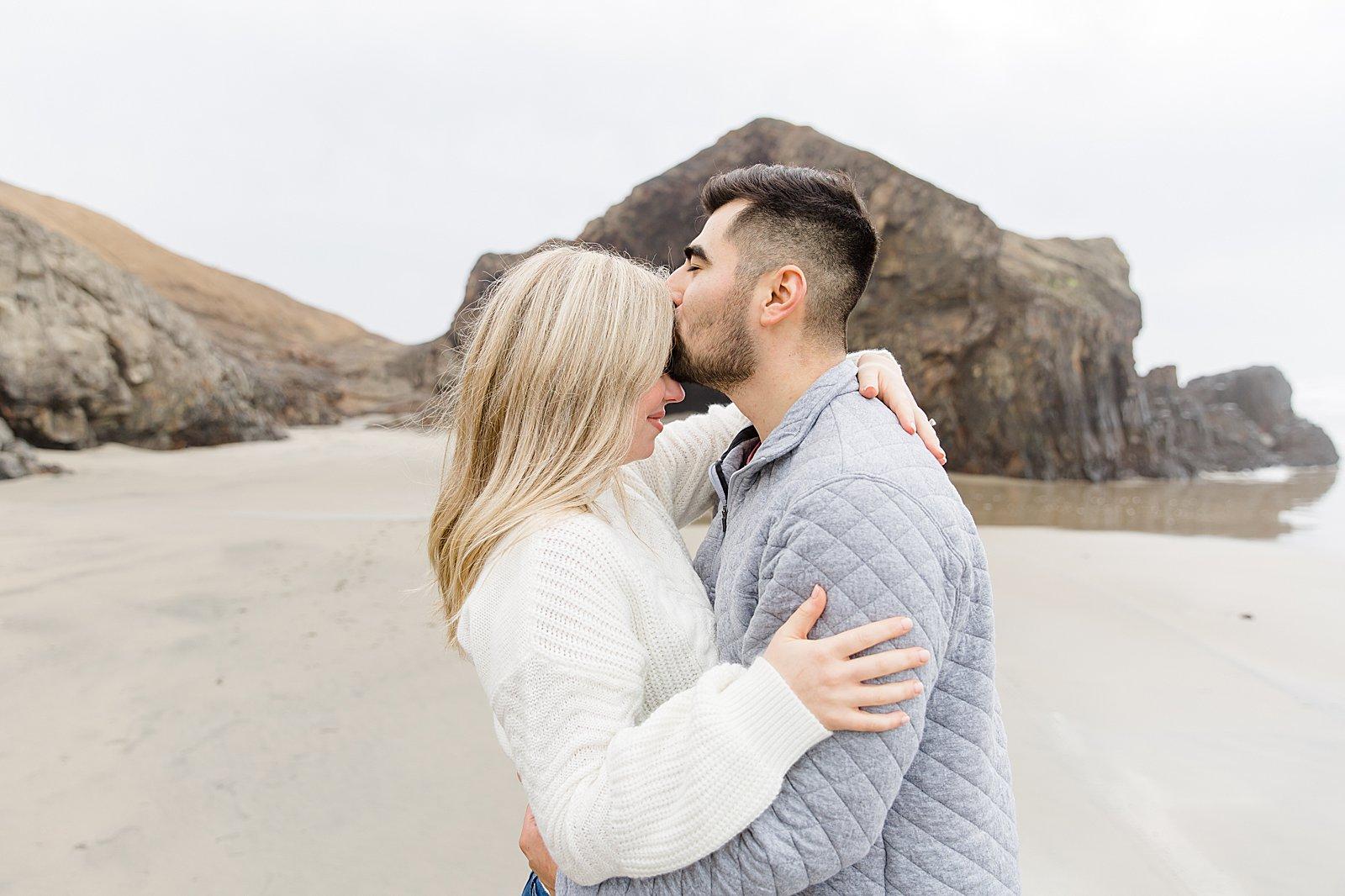 Rebekah Leona Photography | Cape Kiwanda | Beach Photo Session | Oregon Coast Engagement Session