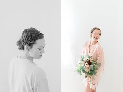3 things to do on your wedding day...iron your robe!
