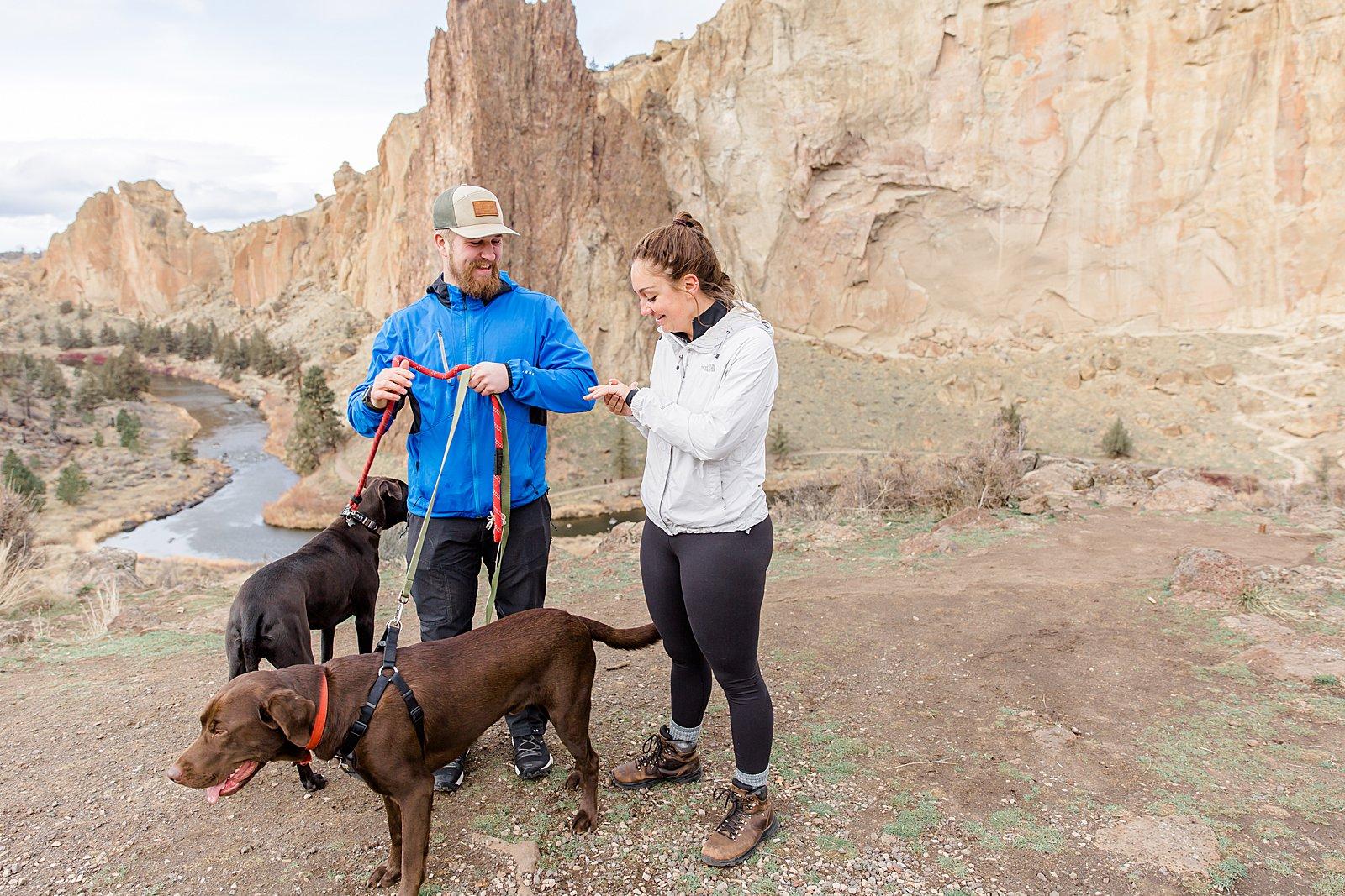 Smith Rock State Park Surprise Proposal