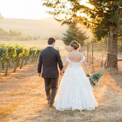 Mr & Mrs Jones // Vineyard View Celebrations at La Bastide Wedding