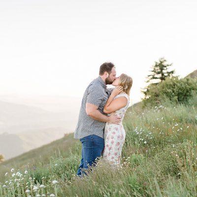 Christian & Miranda // Mary's Peak Engagement Session