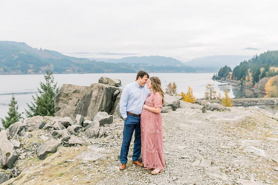 Maternity Session at Government Cove