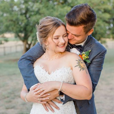 Mr & Mrs Chugg // A Wedding Full of Wildflowers