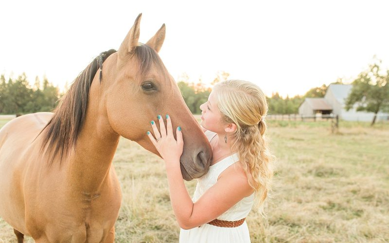 Miss Gracie // A Girl and Her Horses