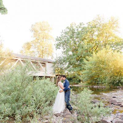 Mr & Mrs Crowe // A Beautiful & Sunny Backyard Wedding