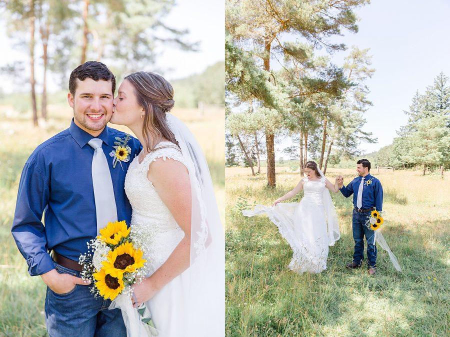 Country Wedding Portraits