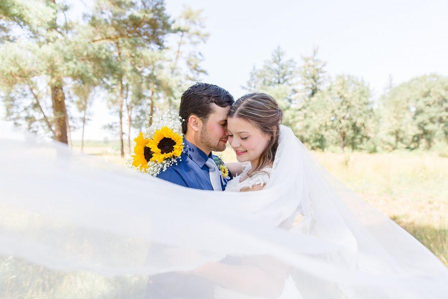 Romantic Country Wedding Portraits