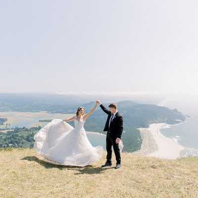 Tallen & Madison // Cascade Head Day-After Adventure Session