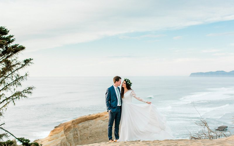 Tyson & Maddy // Cape Kiwanda Anniversary Session