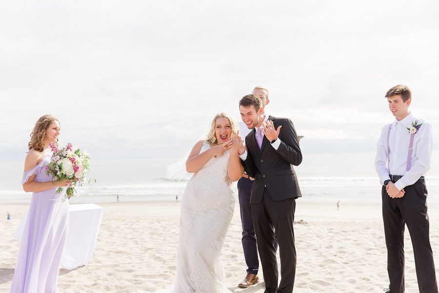 Oregon Coast Elopement - Just Married!