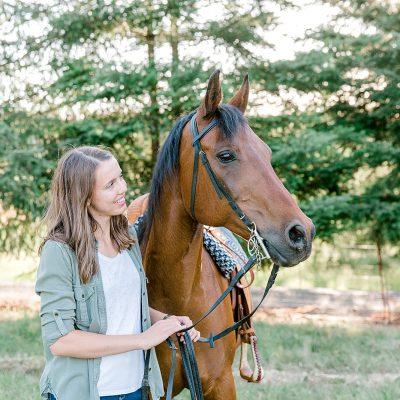 Stephanie & Khassada // A Girl and Her Horse