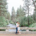Brandon & Madelyn // Oregon Wildwood Engagement Session