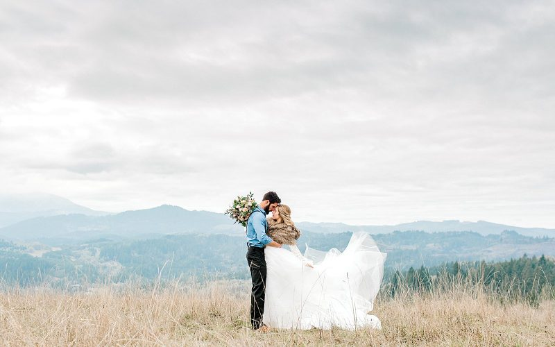 Sam & Elizabeth // An Oregon Mountain Vow Renewal