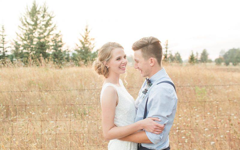 Jake & Sarah // Lebanon Oregon Wedding