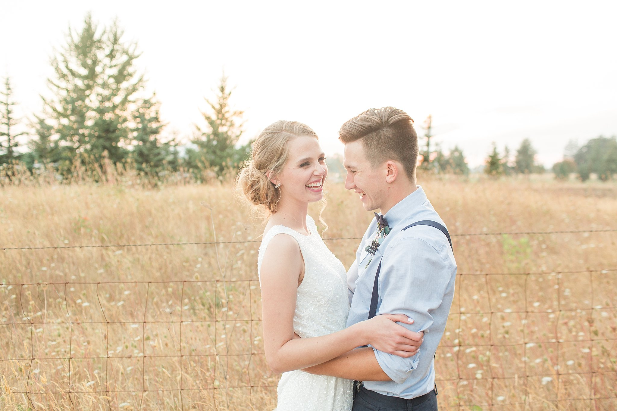 Jake & Sarah // Lebanon Oregon Wedding - Rebekah Leona