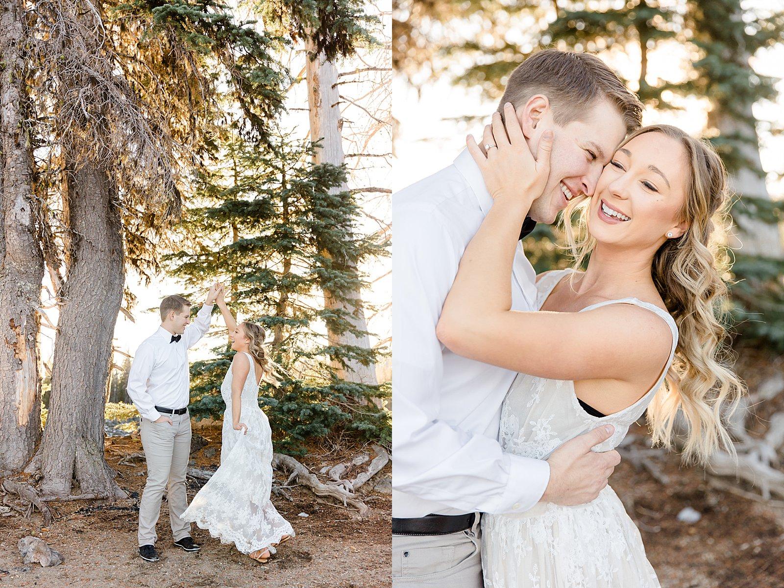 Couples Session Sparks Lake Bend Oregon