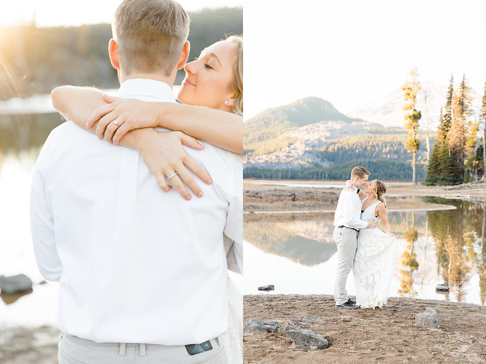 Engagement Session Sparks Lake Bend Oregon