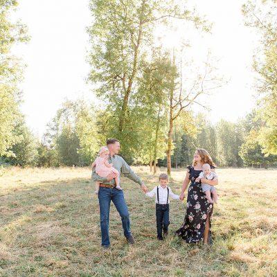 Matthew & Emily // A Farm Family & Couples Session