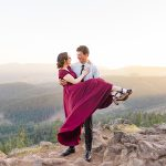 Brent & Courtney // Engagement Session in Oregon