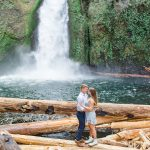 Tallen & Madison // Couple's Session at Wahclella Falls
