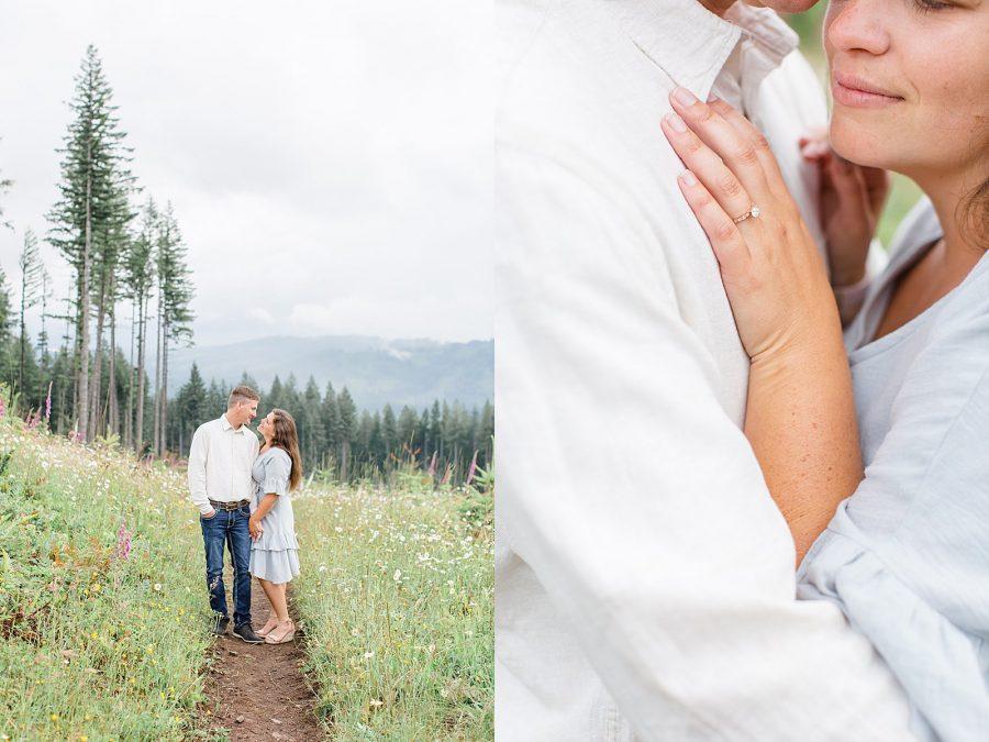 Engagement session photographer Washington